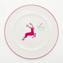 Gmundner Ceramics Red Deer Dinner Plate Gourmet 27 cm