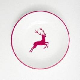 Gmundner Ceramics Red Deer Soup Plate Cup 20 cm