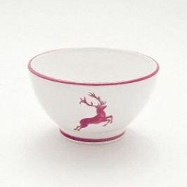 Gmundner Ceramics Red Deer Cereal Bowl 14 cm diameter