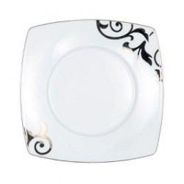 Königlich Tettau Jade Garbo Platin Bread and Butter Plate Square 19.5 cm