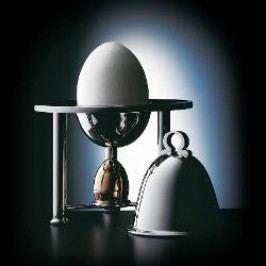 Robbe & Berking Tafelgeräte 925 Sterling Silber Egg cup + shaker + cloche