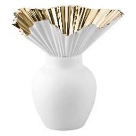 Rosenthal Studio Line Falda Vase Gold titanisiert, 27 cm