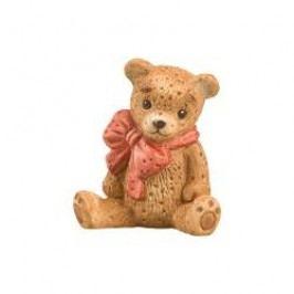 Goebel Nina & Marco in Advent Small cuddly teddy bear, h: 4 cm