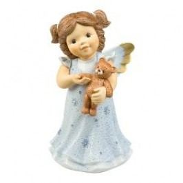 Goebel Nina & Marco - ice angel Guardian angel for my Teddy, h: 25 cm