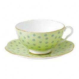 Wedgwood Harlequin Collection - Polka Dot Tea Story Tea cup green 2 pcs.