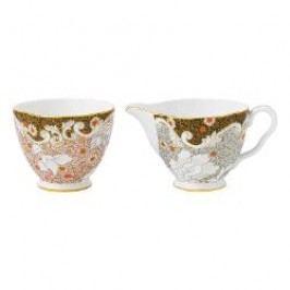 Wedgwood Daisy Tea Story Sugar bowl and Ladler 2 pcs.