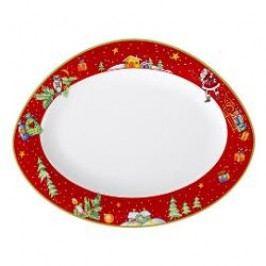 Seltmann Weiden Trio Weihnachten Plate round 31 cm