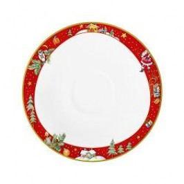 Seltmann Weiden Trio Weihnachten Breakfast saucer, 17,5 cm
