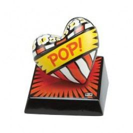 Goebel Artis Orbis - Pop Art - Burton Morris Love Pop! Red - Sculpture made of Porcelain h: 11 cm