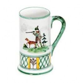 Gmundner Keramik Jagd Beer mug Form A small 0.3 l