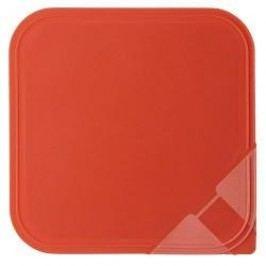 Arzberg Küchenfreunde / Form 2006 Frischedosen Aroma lid for a square bowl red 18 x 18 cm