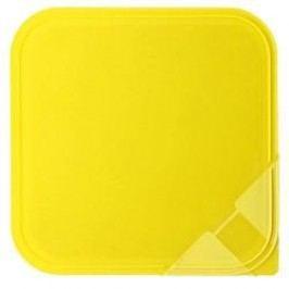Arzberg Küchenfreunde / Form 2006 Frischedosen Aroma lid for a square bowl yellow 15 x 15 cm