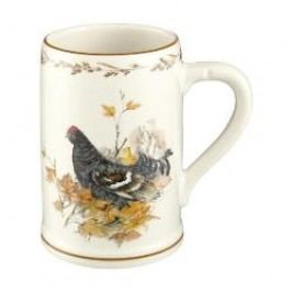 Königlich Tettau Achat Diamant - Jagd Beer mug - Black grouse, 0,5 l