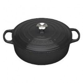 Le Creuset Gourmetbräter French oven color: black 30 cm / 6.2 L