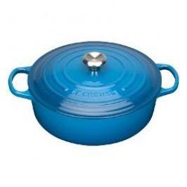 Le Creuset Gourmetbräter French oven color: marseille blue 30 cm / 6.2 L