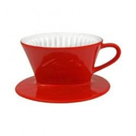 Friesland Kaffee - Kannen und Filter Cone Coffee Making Cup color: red 100