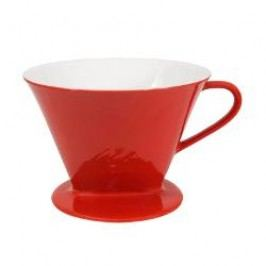 Friesland Kaffee - Kannen und Filter Cone Coffee Making Cup color: red 1x4 / 1-hole performance