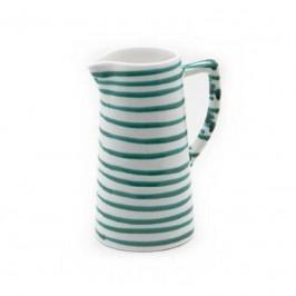 Gmundner Keramik Grüngeflammt Wasserkrug 1,2 L / h: 22 cm