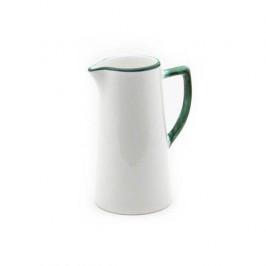 Gmundner Keramik Grüner Rand Wasserkrug 1,2 L