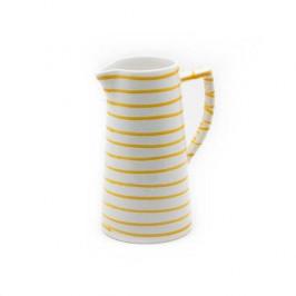 Gmundner Keramik Gelbgeflammt Wasserkrug 1,2 L / h: 22 cm