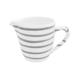 Gmundner Keramik Graugeflammt Milchgießer Gourmet 0,2 L / h: 8,1 cm