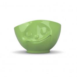 TV Tassen TV MilchkaffeeTasse - Schale hellgrün glücklich 0,5 L