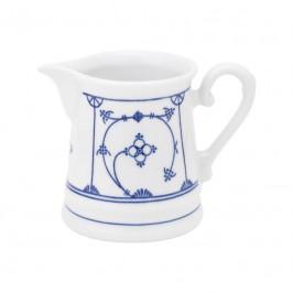 Kahla Blau Saks - Indisch Blau - Stohblumenmuster Milchkännchen 0,25 L