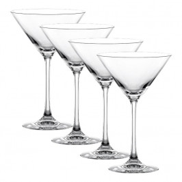 Nachtmann Vivendi Premium - Lead Crystal Martini / Cocktail Glas Set 4-tlg. 195 ml / h: 174 mm