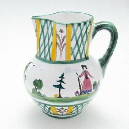 Gmundner Keramik Jagd Krug Wiener Form 0,75 l