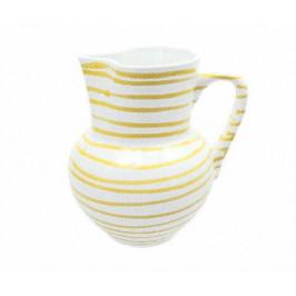 Gmundner Keramik Gelbgeflammt Krug Wiener Form 1,5 L / h: 20 cm