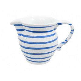 Gmundner Keramik Blaugeflammt Milchgießer glatt 0,3 L / h:9,5 cm