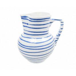 Gmundner Keramik Blaugeflammt Krug Wiener Form 1 L / h: 8,8 cm