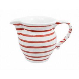 Gmundner Keramik Rotgeflammt Milchgießer glatt 0,5 L / h: 10,8 cm