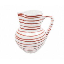 Gmundner Keramik Rotgeflammt Krug Wiener Form 1 L / h: 8,8 cm