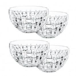 Nachtmann Bossa Nova Dipschale rund Glas Set 4-tlg. h: 5,7 cm / d: 9,8 cm