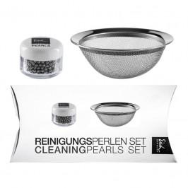 Eisch Dekantier Accessoires Reinigungsperlen-Set 2-tlg. inklusive Reinigungsperlen und Sieb