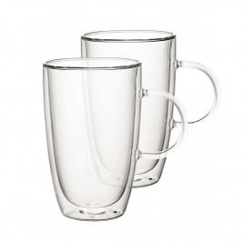 Villeroy & Boch Artesano Hot & Cold Beverages Tasse Größe XL - Set 2-tlg h: 14 cm / 0,45 L