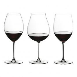 Riedel Gläser Veritas Veritas Red Wine Tasting-Set 3-tlg.