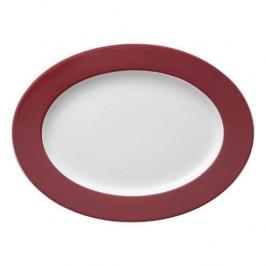 Thomas Sunny Day Fuchsia Platte oval 33 cm