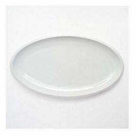 Friesland Ecco weiß Platte oval 39,5x22,5 cm