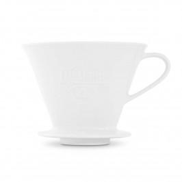 Friesland Kaffee - Kannen und Filter Kaffeefilter weiß 1x4 / 1-Loch Ausführung