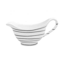 Gmundner Keramik Graugeflammt Sauciere Gourmet 0,2 L / h: 10 cm