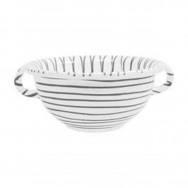 Gmundner Keramik Graugeflammt Weitling d: 17 cm / 0,6 L