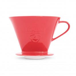 Friesland Kaffee - Kannen und Filter Kaffeefilter rot 1x4 / 1-Loch Ausführung