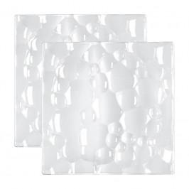 Nachtmann Gläser Sphere Platte quadratisch Set 2-tlg. 21 cm