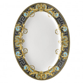 Rosenthal Versace Prestige Gala Le Bleu Platte 40,5 x 30 cm