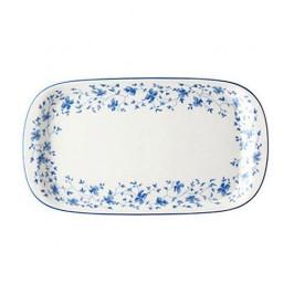 Arzberg Form 1382 Blaublüten Milch - / Zucker- Tablett 23 cm