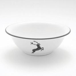 Gmundner Keramik Grauer Hirsch Salatschüssel d: 20 cm / 0,5 L