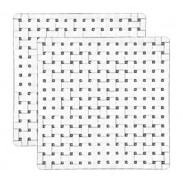 Nachtmann Gläser Bossa Nova Platte quadratisch Set 2-tlg. 21 cm