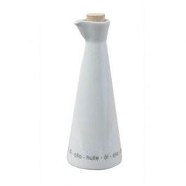Arzberg Cucina Bianca weiß Ölflasche mit Korken 0,33 L
